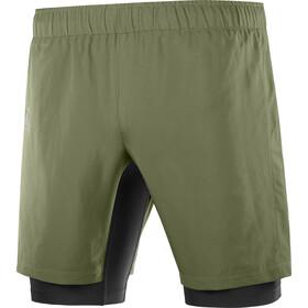 Salomon XA Twinskin Shorts Men, olijf